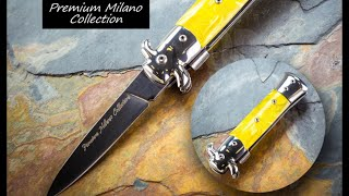 Milano Collection Stiletto Spring Assisted Knife
