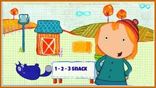 Peg + Cat - 1 2 3 Snack Funny Educational Counting Video Game For Children English