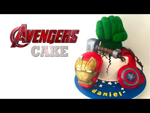 Marvel Avengers Cake How To Cook That Hulk Cake video