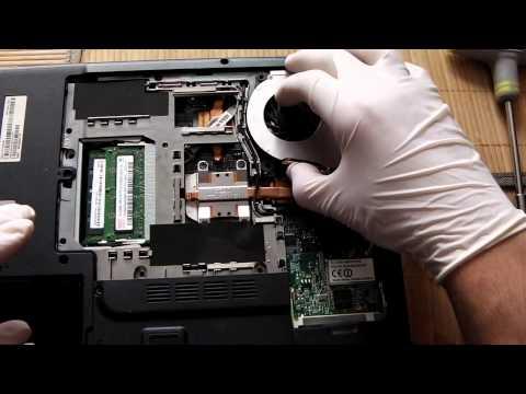 Jak Naprawić Komputer - Wymiana Wentylatora W Laptopie Acer 5100 Odc 14