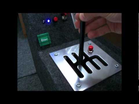 Как сделать руль для компьютера коробка передач