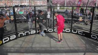 2nd Semi Final - Ilyas Nasri vs Mohamed Taous PANNA ALERT (EC 2016 - Panna Knock Out)