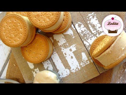 Receta: Sandwich helado de galletas María -- Fácil