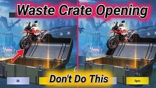 Pubg Mobile Waste Crate Opening Ever / Kumari Gamer