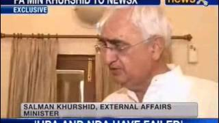 Khurshid plays down BJPs allegation of corruption