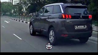 8jun2018 SLW8918L peugeot 5008 blatently disregard red light @ sembawang road