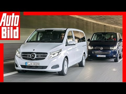 Mercedes V-Klasse vs. VW T5