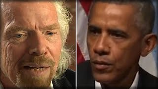 OBAMA'S BILLIONAIRE FRIEND RICHARD BRANSON JUST SLIPPED A SECRET OBAMA NEVER WANTED GETTING OUT