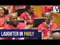WATCH: Ramaphosa quips at Malema