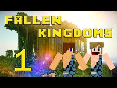 Fallen Kingdoms 2 : Siphano & Xef | Jour 1 - Minecraft video