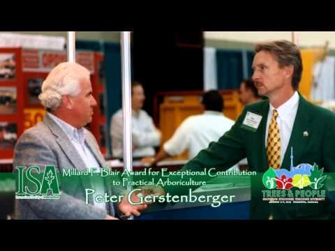 2013 Millard F. Blair Exceptional Contribution to Practical Arboriculture Award: Peter Gerstenberger