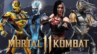 Top Ten Characters that Should Return in Mortal Kombat 11