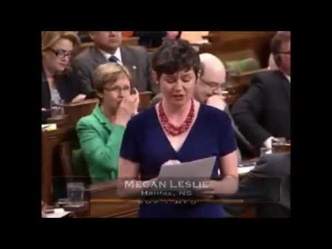 Megan asks Conservatives about Privacy Commissioner and Maternal Health