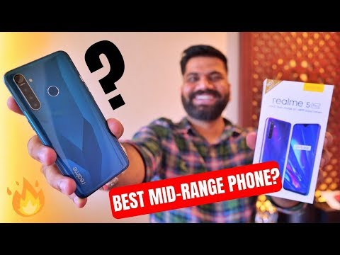 Realme 5 Pro Unboxing & First Look - The Midrange Hero? Giveaway 🔥🔥🔥