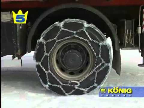 0 Commercial Snow Chains for Vans, Coaches & Trucks Fitting Demonstration