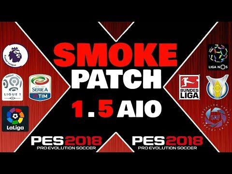 SMOKE PATCH 10.5 AIO PES 2018 PC DOWNLOAD #1