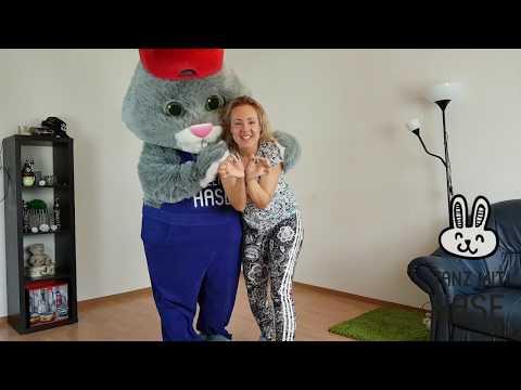 Lektionen der Tänze für Kinder || Tanz mit Hase - Online Tanzschule || Lektion 2