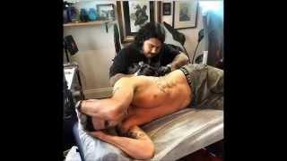 Kevin Pietersen's cricket tattoo Latest