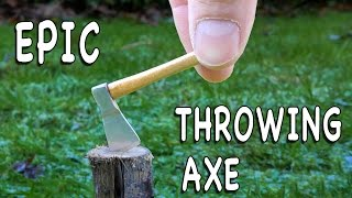 Meet the Mini Axe & Throwing Axe