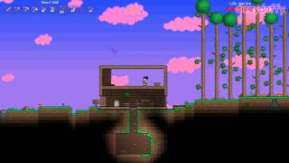 Terraria - Acer Aspire 5750g gameplay