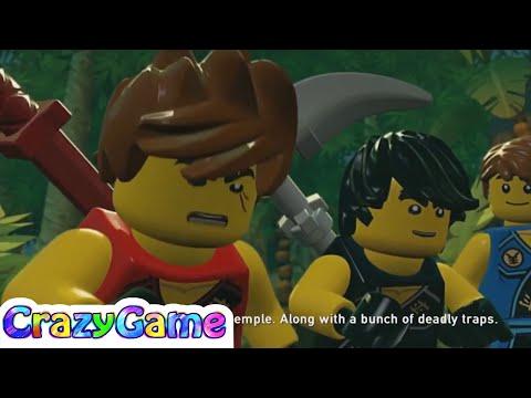LEGO Ninjago Shadow of Ronin 100% Guide #1 Prologue (Red Brick, Character Tokens)