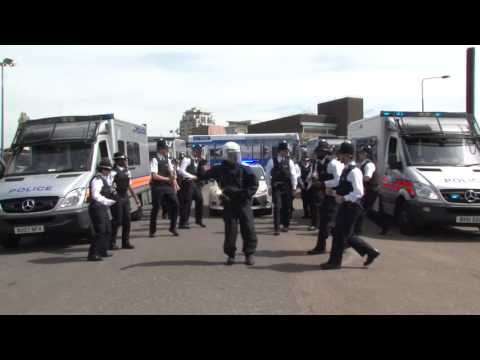 Metropolitan Police Service Running Man Challenge