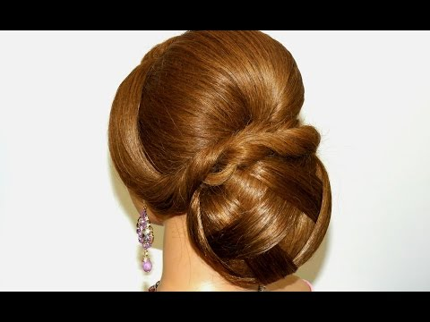 Updo hairstyles. Bridal wedding hairstyles for long hair