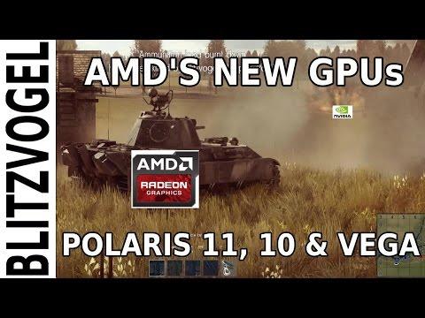 Discussing AMD's Polaris 11, 10 & Vega Graphics Processors