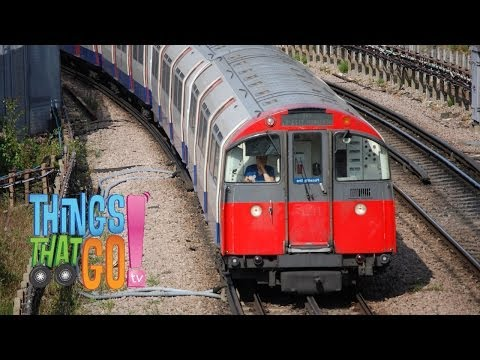UNDERGROUND TRAIN: Train videos for kids| children| toddlers. Preschool & Kindergarten learning.