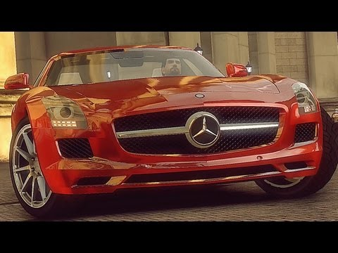 GTA 4 Mercedes SLS AMG 2011  !!  ENB series Extreme Graphics  [ Car mods + RealizmIV + VisualIV ]