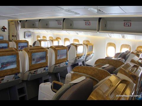 Emirates Business Class Seat MiniBar HD
