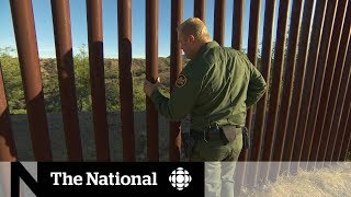 Patrolling the border wall with a U.S. border agent | In-Depth