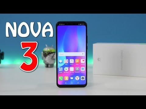 Huawei Nova 3 СМАРТФОН КРАСАВЕЦ