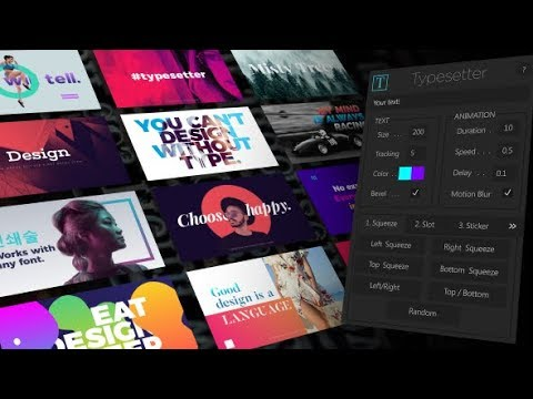 Typesetter Script Ae Free Download By COOL VFX