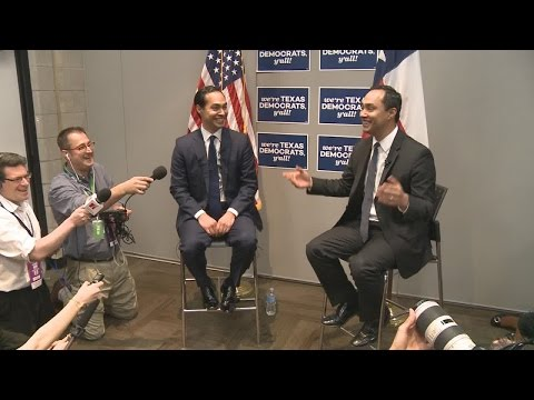Julian Castro at the Texas Democratic Convention on being vetted for Vice President