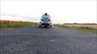 Messerschmitt Kabinenroller KR 175 Testfahrt Test Drive