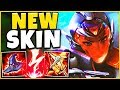*RIOT'S BEST SKIN* PROJECT AKALI IS ABSOLUTELY INSANE! (1V9 CARRY)   League Of Legends
