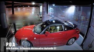 Alfa Romeo SZ Zagato - Exposition La beauté nécessaire 3/4
