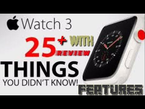 APPLE WATCH Series 3 LTE - Great with your iPhone! - REVIEW ,first look.