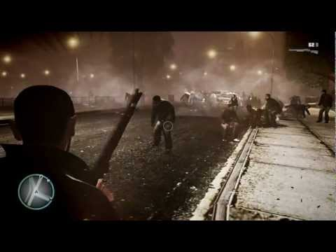 GTA 4 HD Footage - Zombie Mod Action - 1080p !