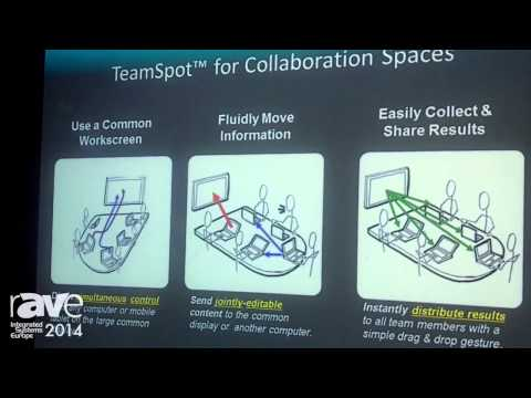 ISE 2014: Tidebreak Presents TeamSpot, Large Display for Collaboration and Sharing Content