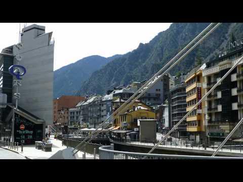 Andorra la Vella .. FREE of TAX shopping in a modern city