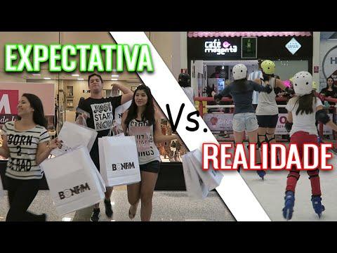 Expectativa Vs. realidade VIDA REAL