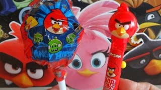 Angry Birds RED Pop Ups Lollipop & Mega Lolly Surprise