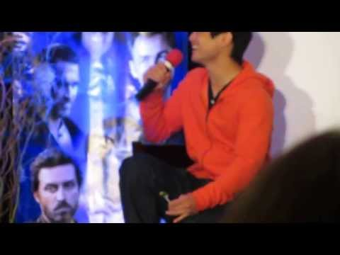 Osric Chau on Filming with Jared Supernatural Con NJ 2013