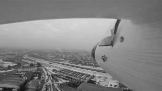 TRAIN URBEX z leteckého pohledu