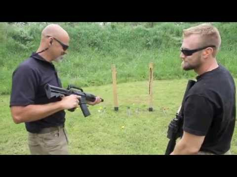 LASER Rifle versus Real Rifle