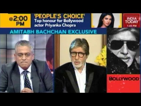 Exclusive: Amitabh Bachchan's Big Interview
