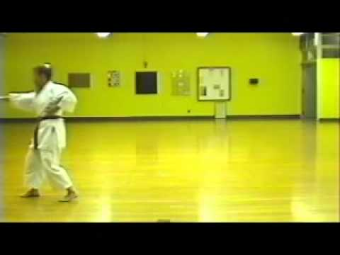 Matsubayashi Shorin Ryu Okinawa Karate Do - First 10 of 18 Kata. Sensei Katherine Loukopoulos