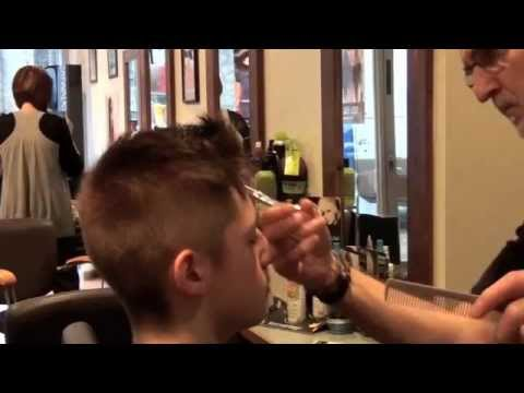 Demo of a Short Clipper Cut by Ken Graham